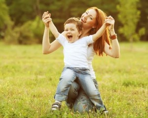 Mom & child